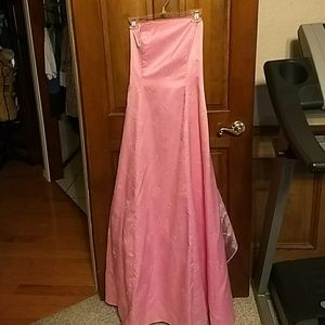 15/16 nwt long sparklypink Special Occasion Dress